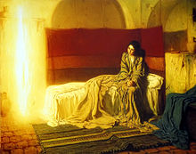 The Annunciation, Henry Ossawa Tanner (1898)
