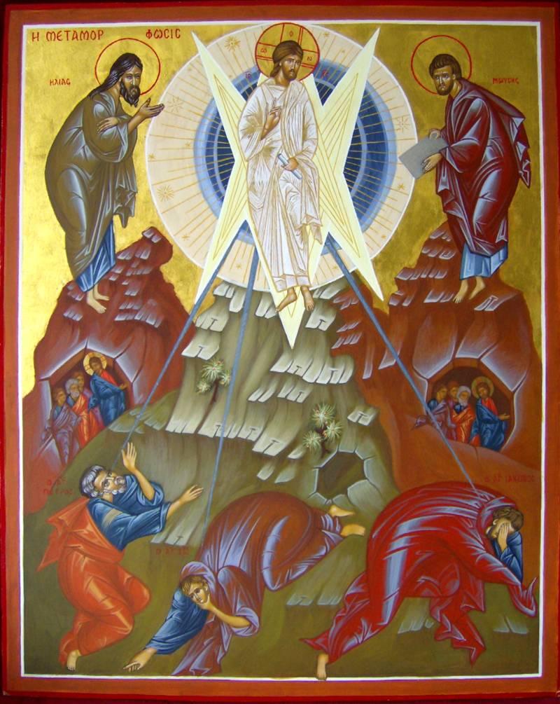 Transfiguration Icon, Theophan the Greek